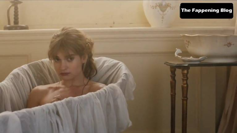 Lily James Nude Sexy 142