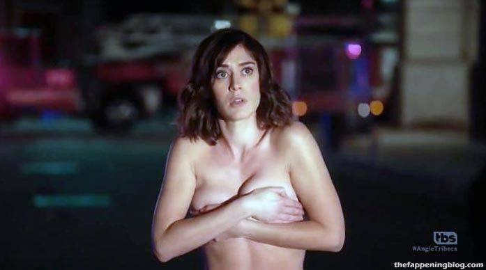 Lizzy Caplan Naked Sexy Leaked The Fappening 123