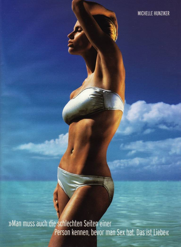 Michelle Hunziker Nude Sexy Topless 30