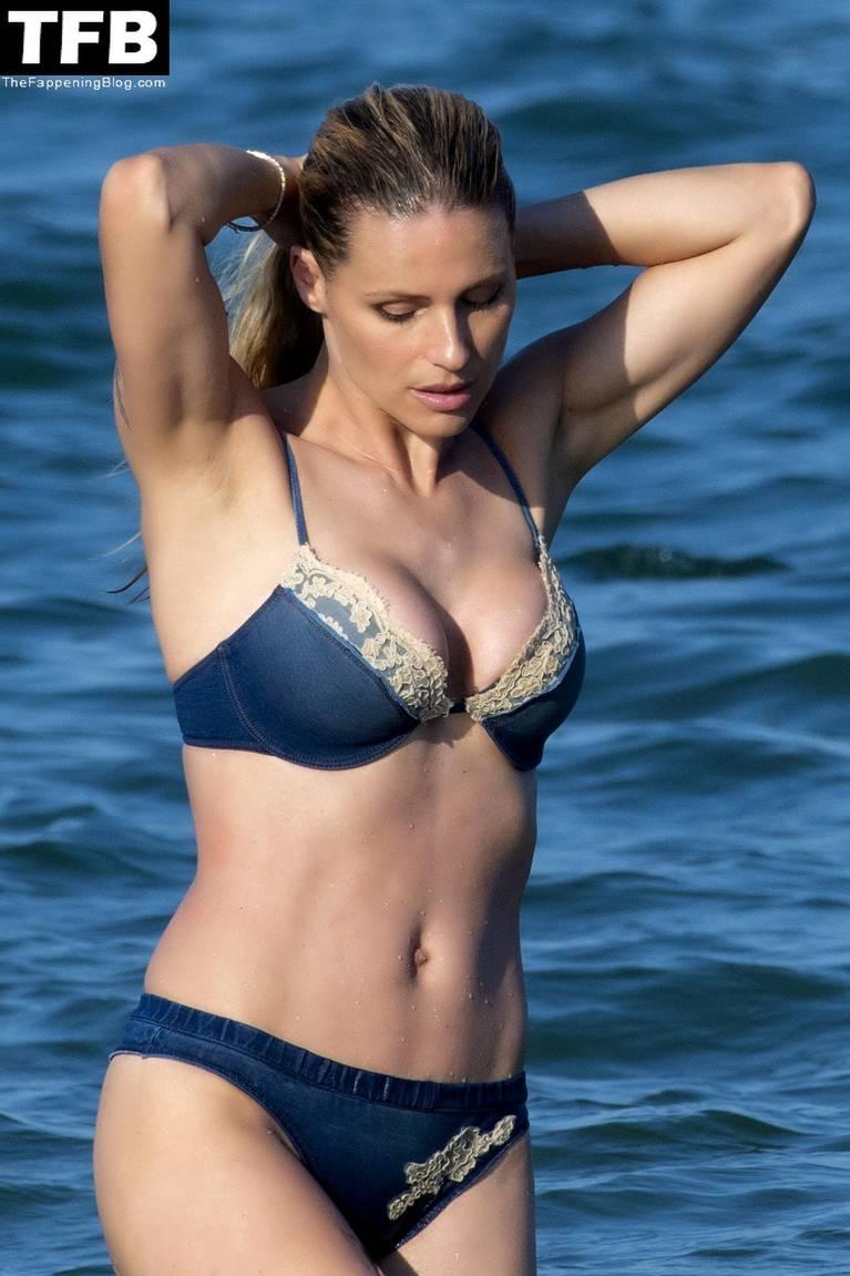 Michelle Hunziker Nude Sexy Topless 57
