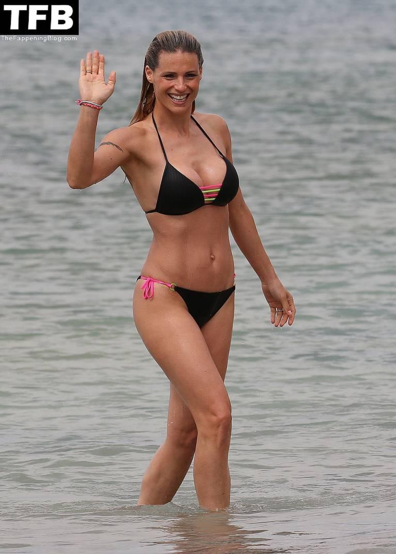 Michelle Hunziker Nude Sexy Topless 62