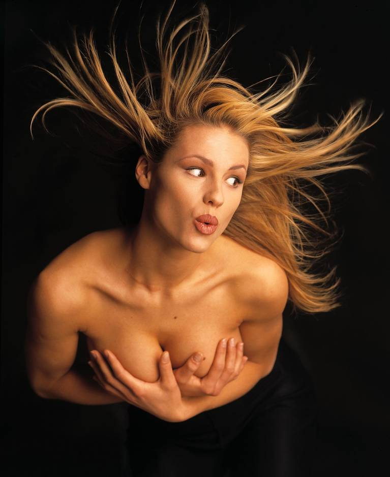 Michelle Hunziker Nude Sexy Topless 144