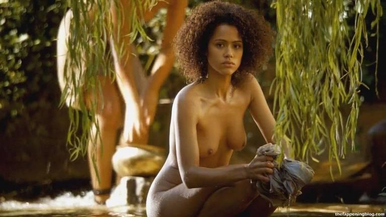 Nathalie Emmanuel Naked Sexy Topless 4