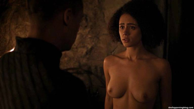 Nathalie Emmanuel Naked Sexy Topless 6