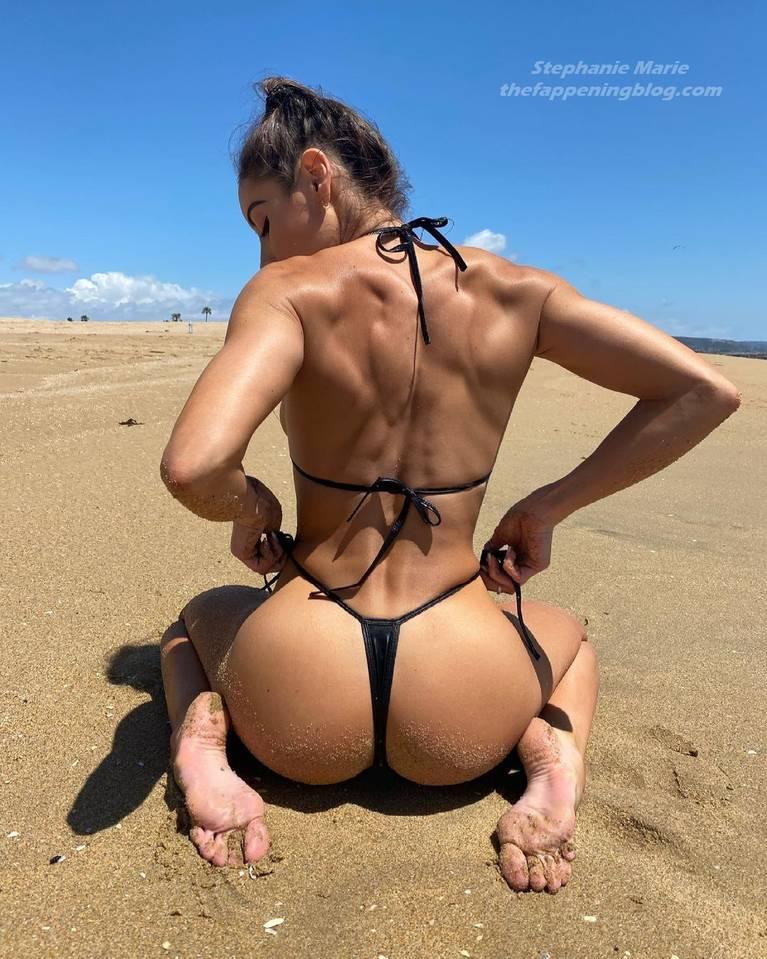 Stephanie Marie Sexy Topless 1