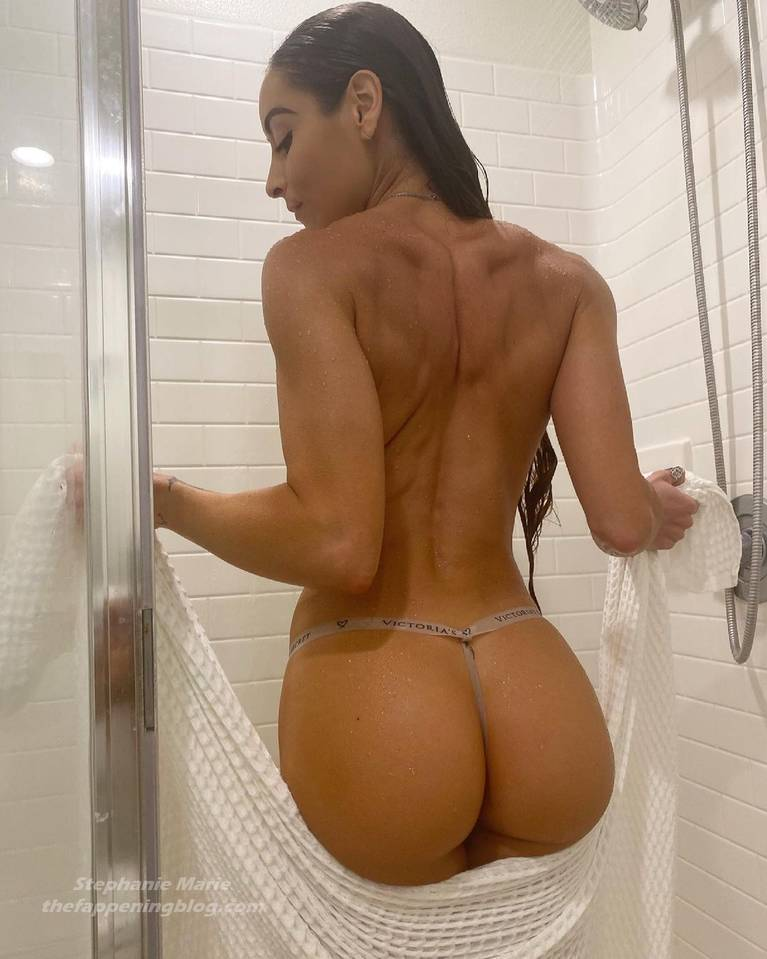 Stephanie Marie Sexy Topless 3