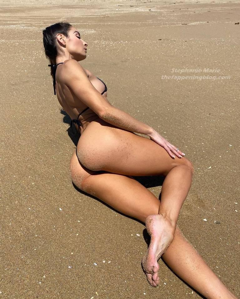 Stephanie Marie Sexy Topless 4