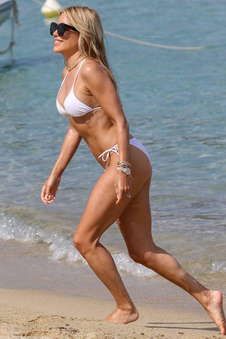 Sylvie Meis on Beach 35