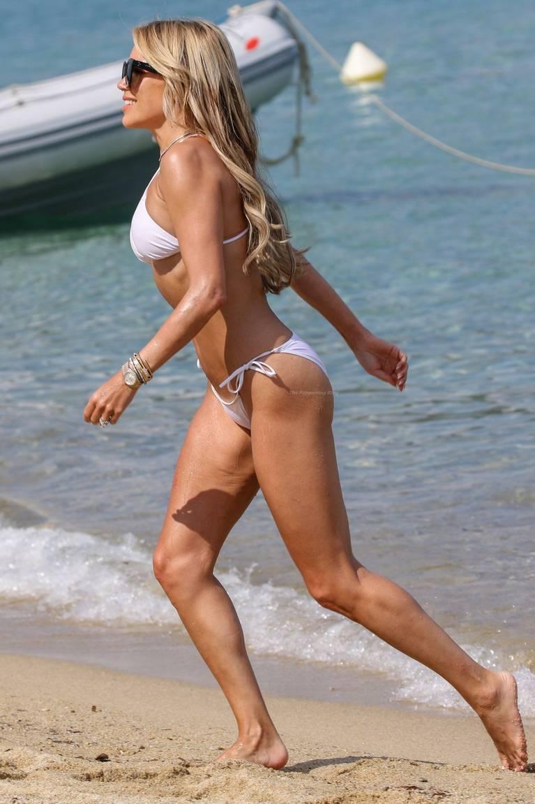 Sylvie Meis on Beach 36
