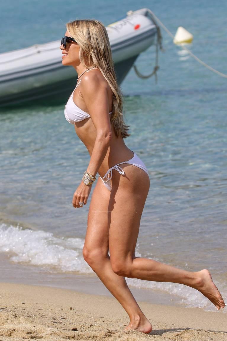 Sylvie Meis on Beach 37