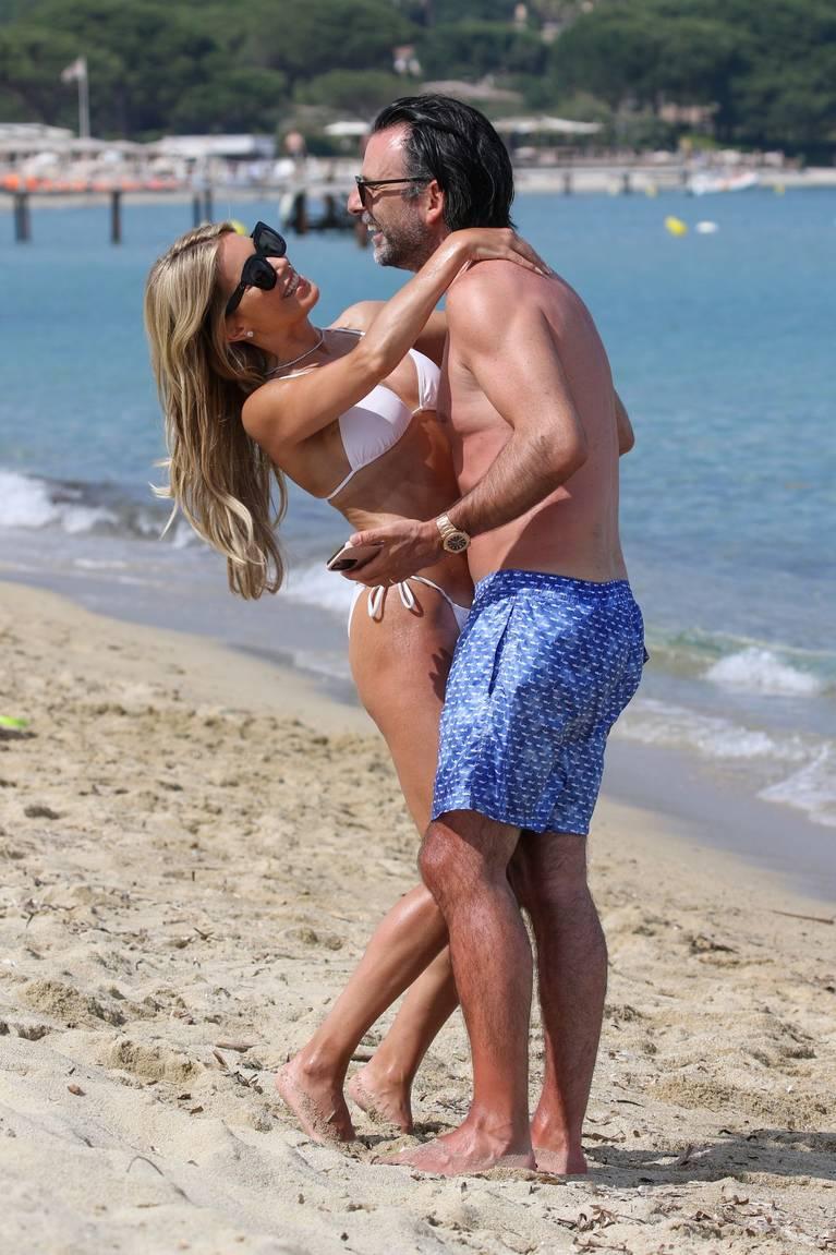 Sylvie Meis on Beach 44