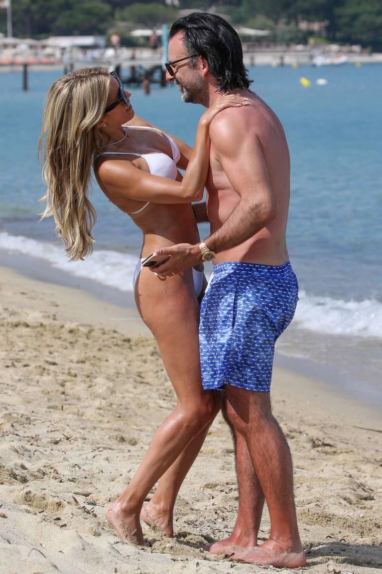 Sylvie Meis on Beach 48
