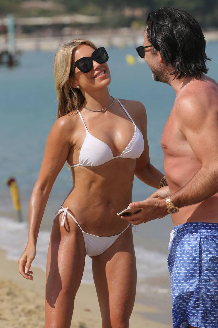 Sylvie Meis on Beach 62