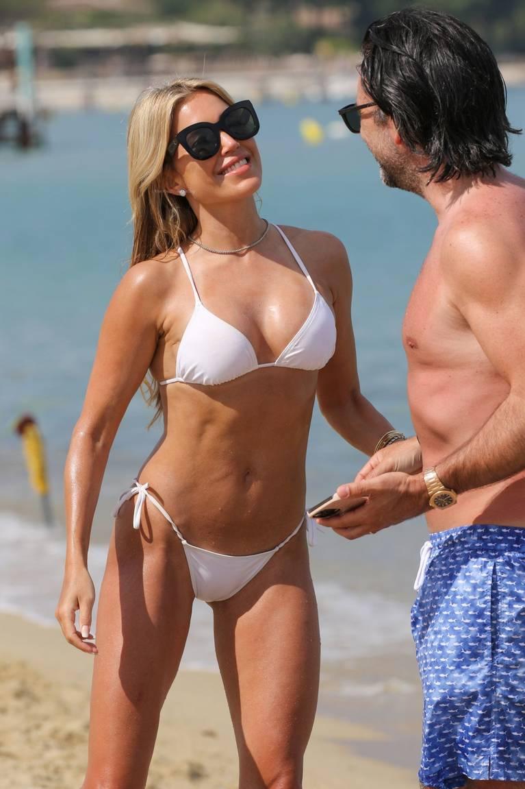 Sylvie Meis on Beach 63