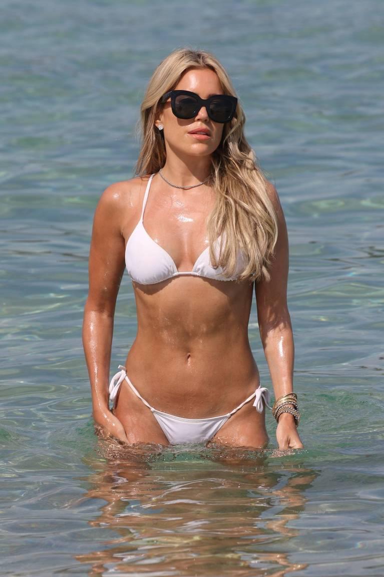 Sylvie Meis on Beach 79