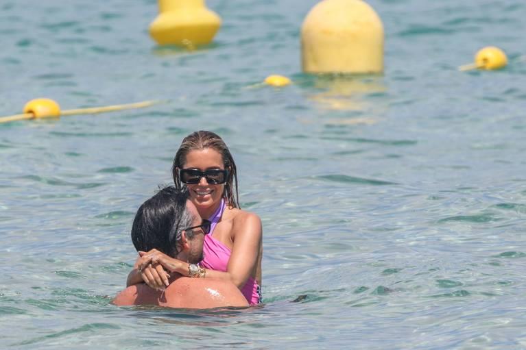 Sylvie Meis on Beach 29