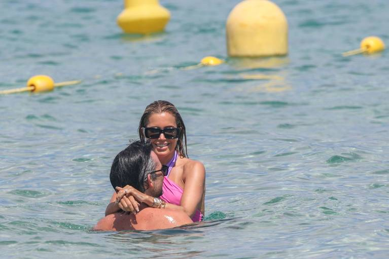 Sylvie Meis on Beach 30