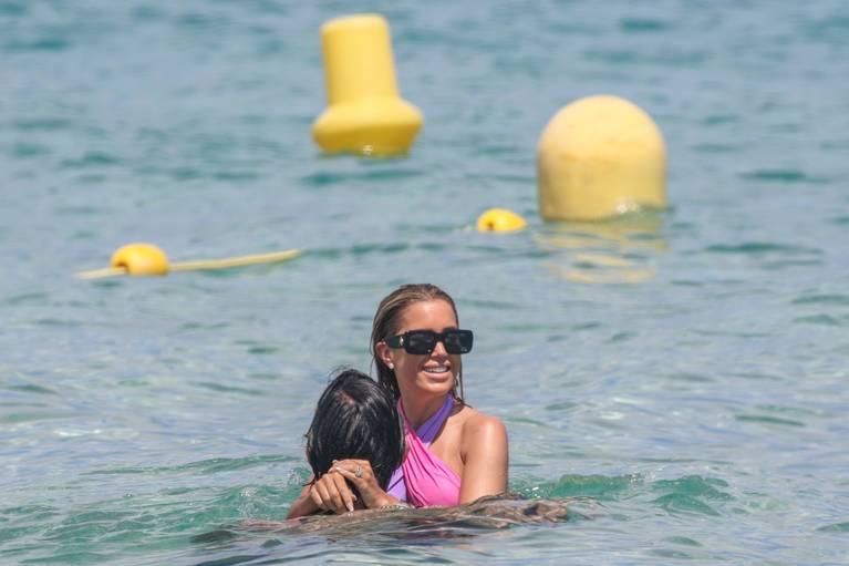 Sylvie Meis on Beach 31