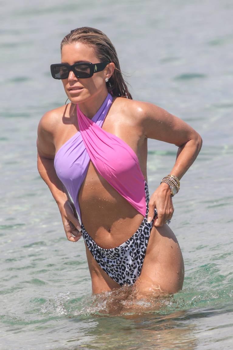Sylvie Meis on Beach 45