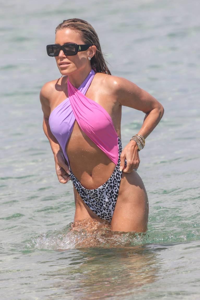 Sylvie Meis on Beach 46