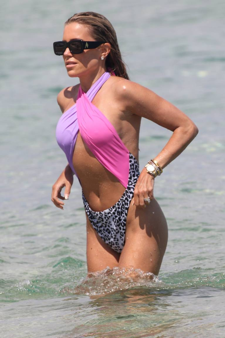 Sylvie Meis on Beach 47