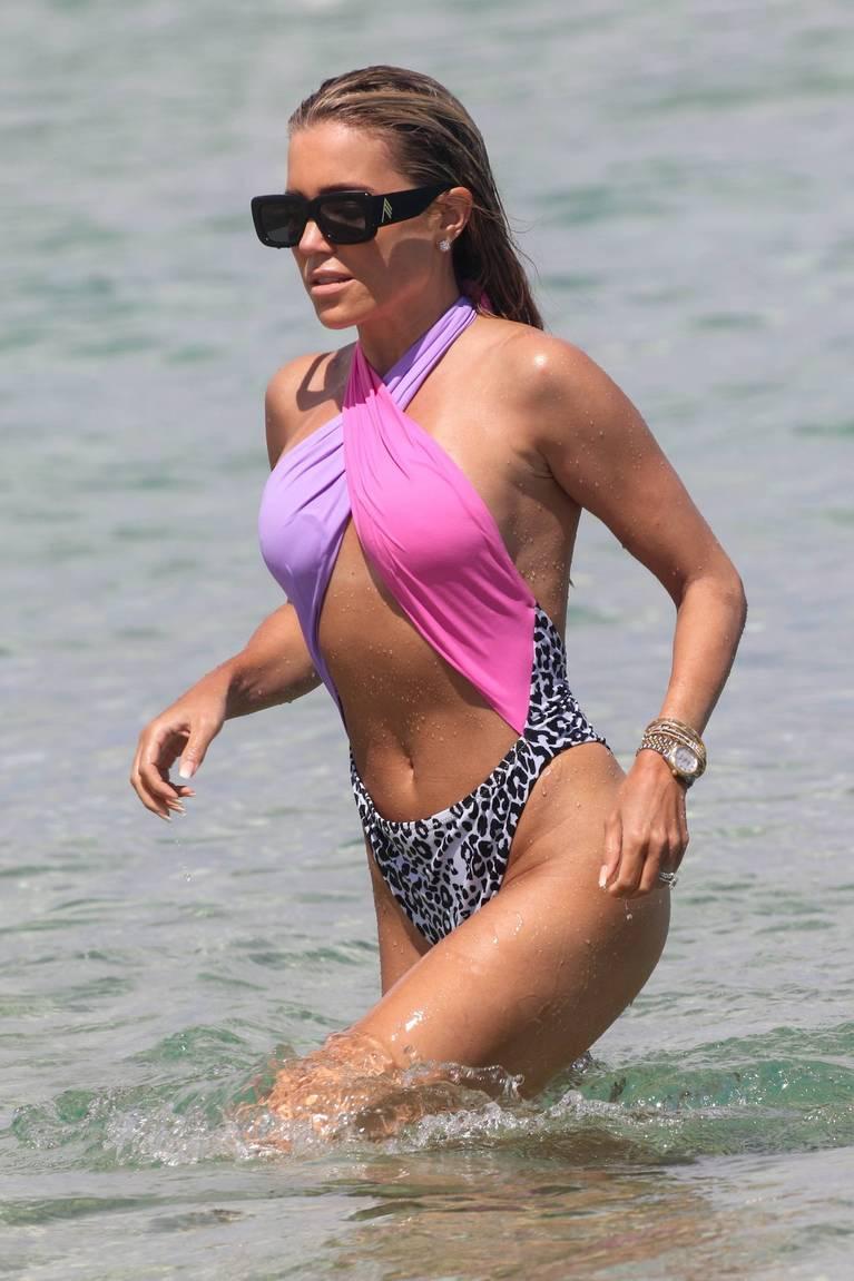 Sylvie Meis on Beach 49