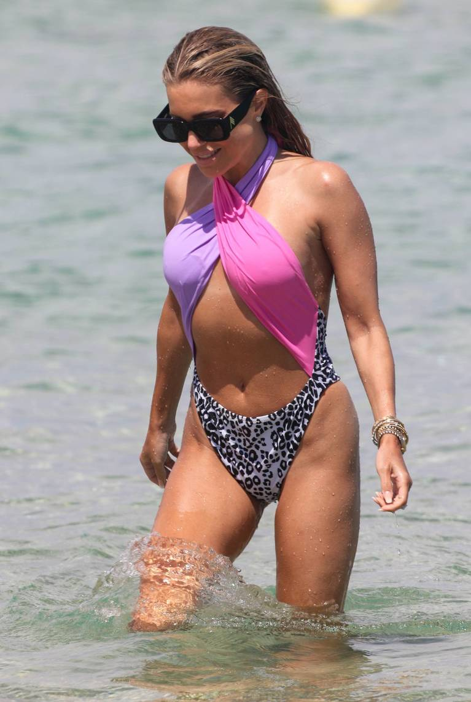 Sylvie Meis on Beach 52