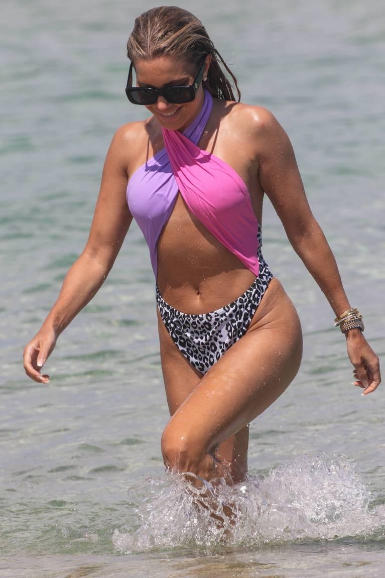 Sylvie Meis on Beach 56