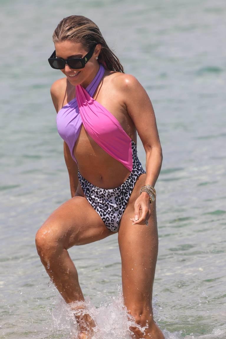 Sylvie Meis on Beach 59