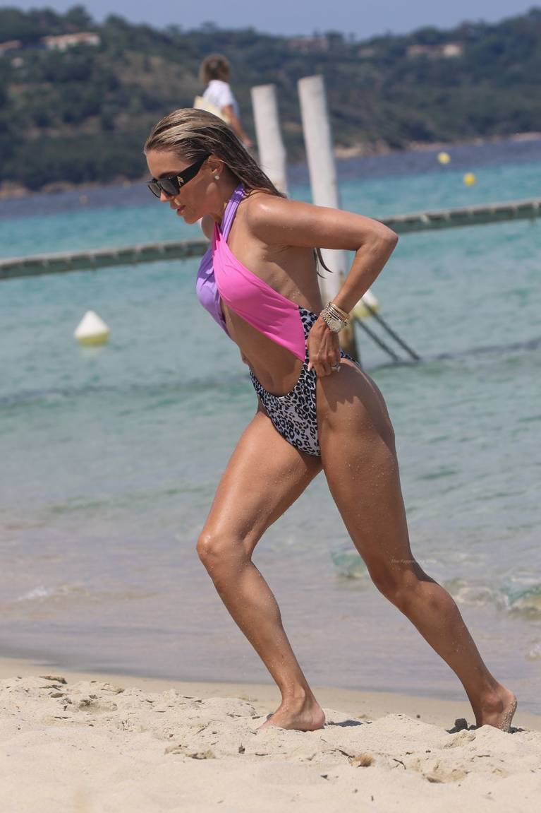 Sylvie Meis on Beach 65