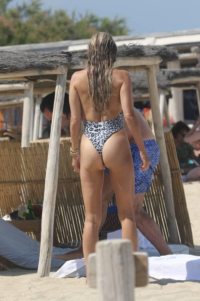 Sylvie Meis on Beach 99