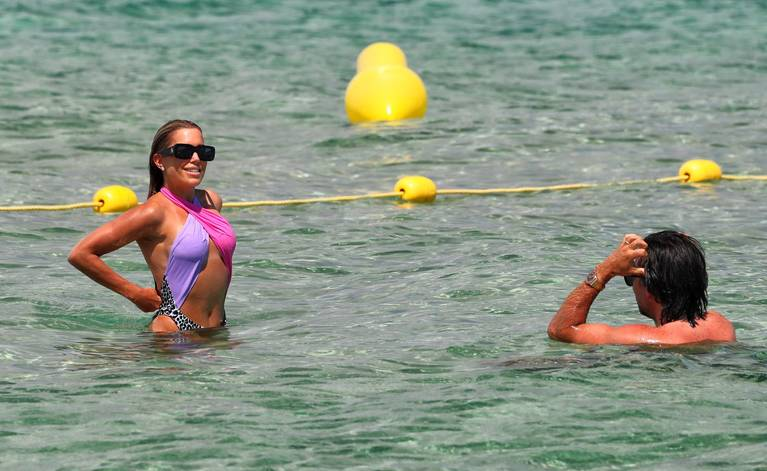 Sylvie Meis on Beach 102