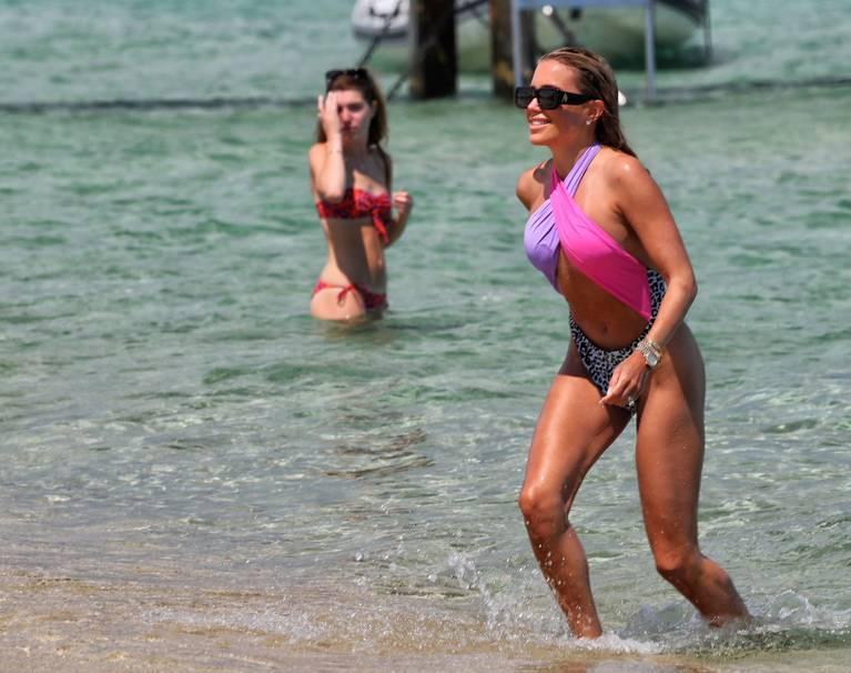 Sylvie Meis on Beach 109