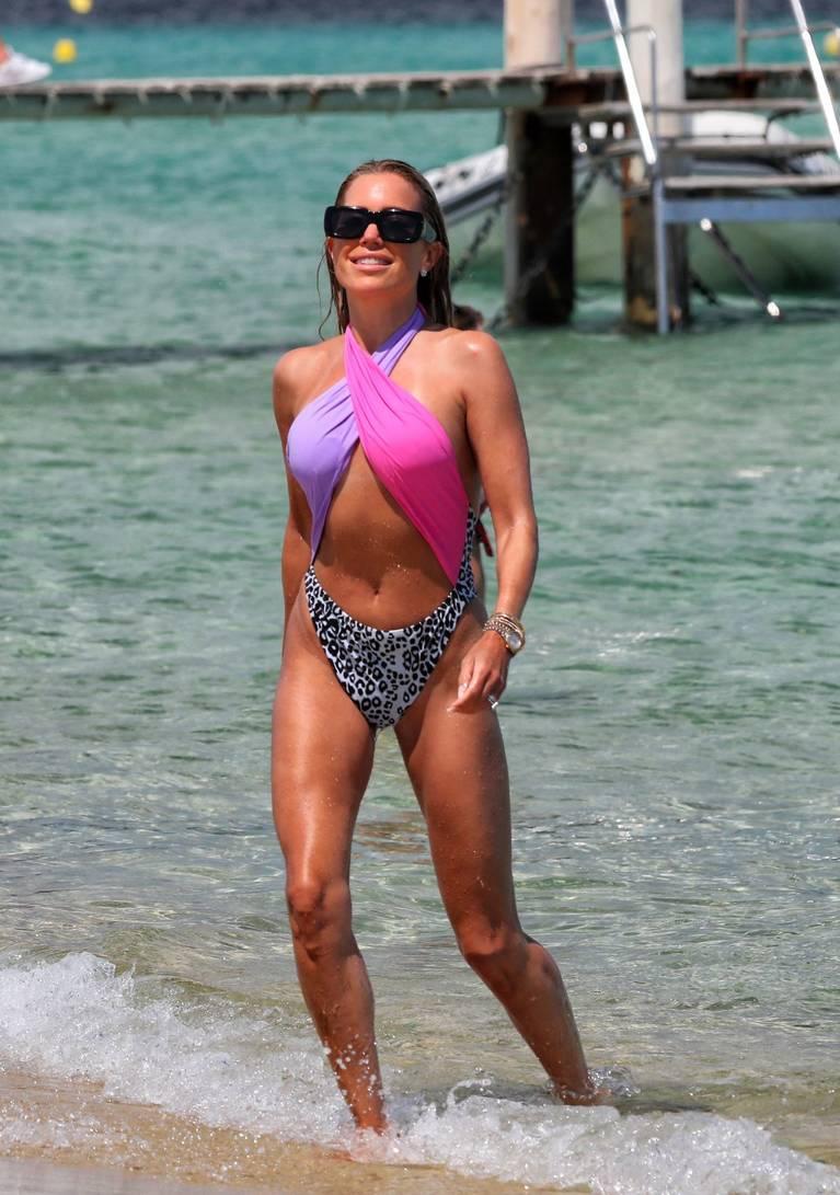 Sylvie Meis on Beach 111