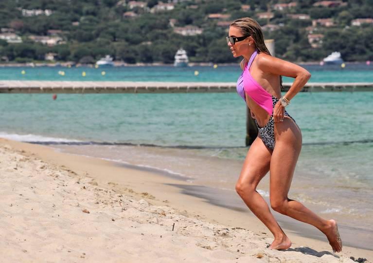 Sylvie Meis on Beach 114