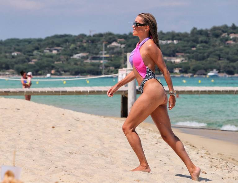 Sylvie Meis on Beach 115