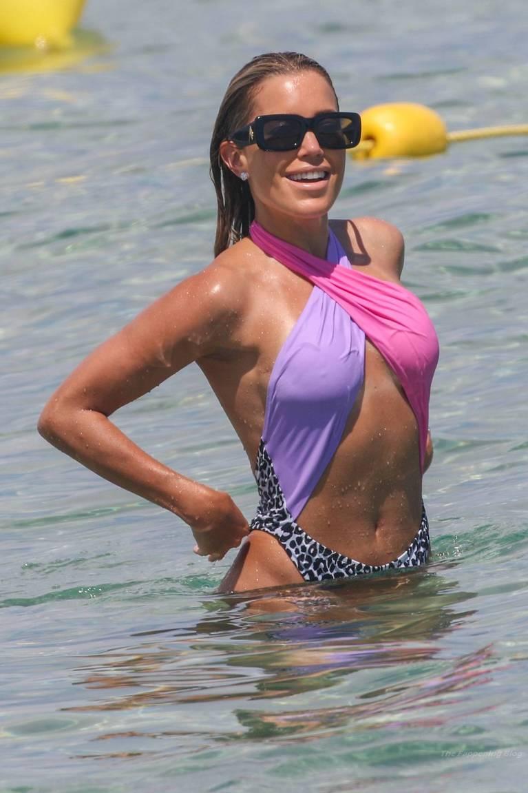 Sylvie Meis on Beach 120