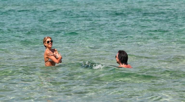 Sylvie Meis on Beach 8