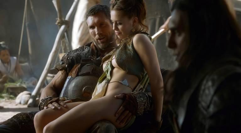 Talitha Luke-Eardley Nude Sexy Topless 3